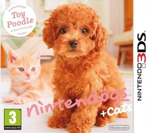 NINTENDOGS & CATS : CANICHE TOYS - 3DS
