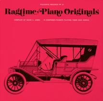 RAGTIME PIANO ORIGINALS