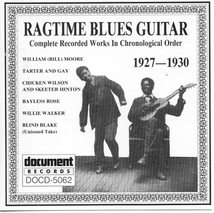 RAGTIME BLUES GUITAR 1927-1930
