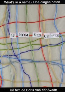 LE NOM DES CHOSES