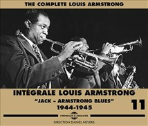"""INTÉGRALE LOUIS ARMSTRONG VOL.11 """"JACK-ARMSTRONG BLUES"""""""