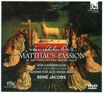 MATTHAUS PASSION (2 CD + 1 DVD)