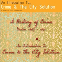 AN INTRODICTION TO CRIME & THE CITY SOLUTION (A HISTORY OF C