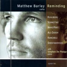 MATTHEW BARLEY: REMINDING