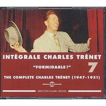 "INTEGRALE TRENET 1947-1951 ""FORMIDABLE !"" VOL.7"