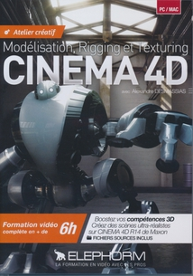 CINEMA 4D - R14 - ATELIER CREATIF