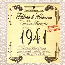 TABLEAU D'HONNEUR DE LA CHANSON FRANÇAISE 1941