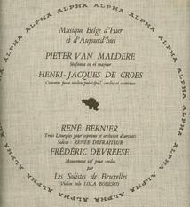 BERNIER,DE CROES,DEVREESE,VAN MALDERE