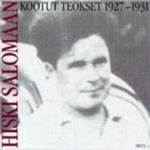 KOOTUT TEOKSET 1927-1931