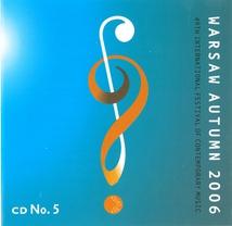 WARSAW AUTUMN 2006 (BAGINSKI/ PENHERSKI/ WALTER/ ZAWADZKA-GO