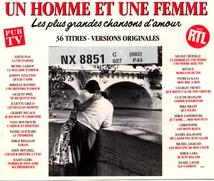 UN HOMME ET UNE FEMME: LES PLUS GRANDES CHANSONS D'AMOUR