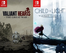 CHILD OF LIGHT + VALIANT HEARTS