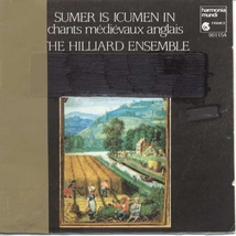 """CHANTS MEDIEVAUX ANGLAIS """"SUMMER IS ICUMEN IN"""""""
