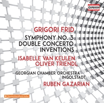 SYMPHONY 3 / DOUBLE CONCERTO / INVENTIONS