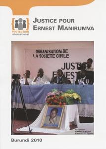 JUSTICE POUR ERNEST MANIRUMVA
