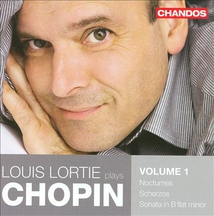 LOUIS LORTIE PLAYS CHOPIN VOL.1