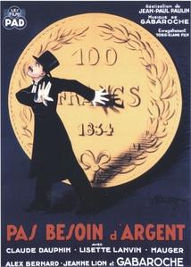PAS BESOIN D'ARGENT