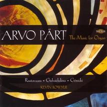 MUSIC FOR ORGAN (+ GUBAIDULINA, GORECKI, RAUTAVAARA)
