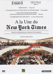 À LA UNE DU NEW YORK TIMES