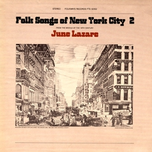 FOLK SONGS OF NEW-YORK CITY, VOL.2