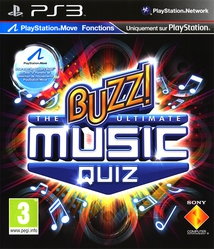 BUZZ! THE ULTIMATE MUSIC QUIZ (+ BUZZERS) - PS3