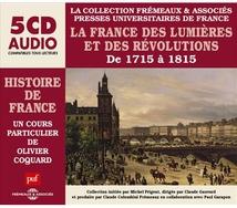 LA HISTOIRE DE FRANCE - FRANCE DES LUMIERES