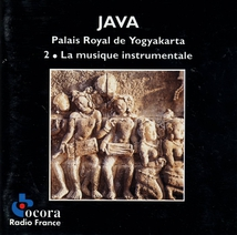 JAVA: PALAIS ROYAL DE YOGYAKARTA, 2 - MUSIQUE INSTRUMENTALE