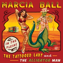TATTOOED LADY AND THE ALLIGATOR MAN