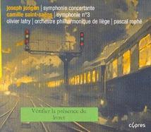 SYMPHONIE CONCERTANTE (+ SAINT-SAËNS)