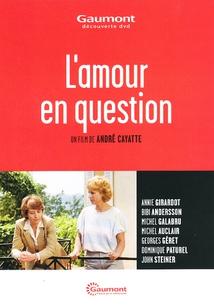 L'AMOUR EN QUESTION