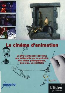 LE CINÉMA D'ANIMATION - COFFRET DVD