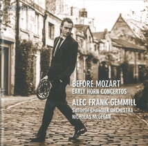 BEFORE MOZART EARLY HORN CONCERTOS
