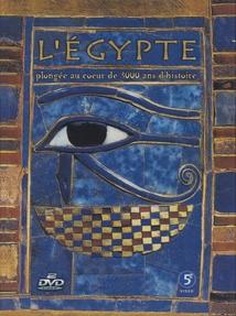 L' ÉGYPTE, PLONGÉE AU COEUR DE 3.000 ANS D'HISTOIRE - COFFRET DVD