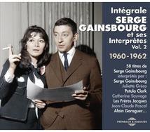 INTÉGRALE SERGE GAINSBOURG ET SES INTERPRÈTES VOL2 1960-1962