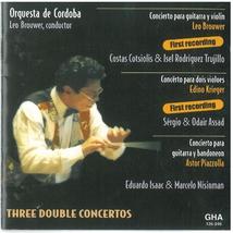 CONCERTO GUITARE, VIOLON, CORDES (+ KRIEGER, PIAZZOLLA)
