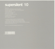 SUPERSILENT 10