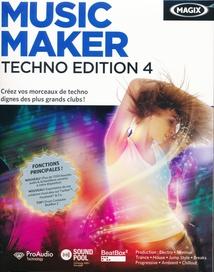 MUSIC MAKER TECHNO EDITION 4