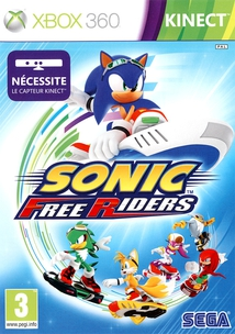 SONIC FREE RIDERS (POUR KINECT) - XBOX360