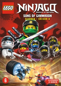 NINJAGO: MASTERS OF SPINJITZU - 8