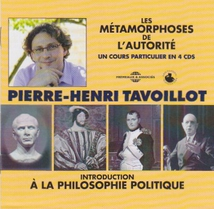 MÉTAMORPHOSES DE L'AUTORITÉ: INTRODUCTION À LA PHILOSOPHIE