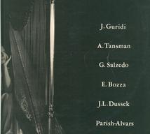 HARPE - BOZZA,DUSSEK,GURIDI,PARISH-ALVARS,SALZEDO,TAN