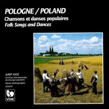 POLOGNE: CHANSONS ET DANSES POPULAIRES
