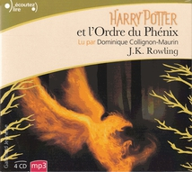 HARRY POTTER ET L'ORDRE DU PHÉNIX (CD-MP3)