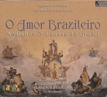 O AMOR BRASILEIRO (PIANOFORTE & FLÛTE) (+ NUNES GARCIA ...)