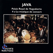 JAVA: PALAIS ROYAL DE YOGYAKARTA 4 - LA MUSIQUE DE CONCERT