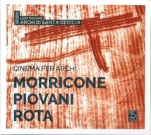 CINEMA PER ARCHI (+ MORRICONE/ + PIOVANI)