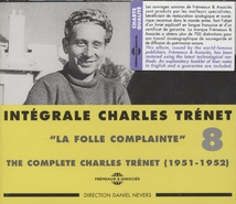 "INTEGRALE TRENET 1951-1952 ""LA FOLLE COMPLAINTE"" VOL.8"