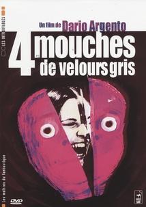 4 MOUCHES DE VELOURS GRIS