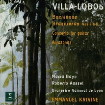 BACHIANAS BRASILIERAS 2,5 / CONCERTO GUITARE / AMAZONAS
