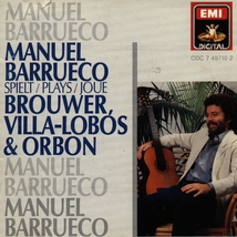 GUITARE: PRELUDES 1-5 - CHOROS 1 (+ BROUWER, ORBON)